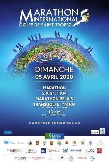 Bientôt le Marathon du Golfe de Saint Tropez !
